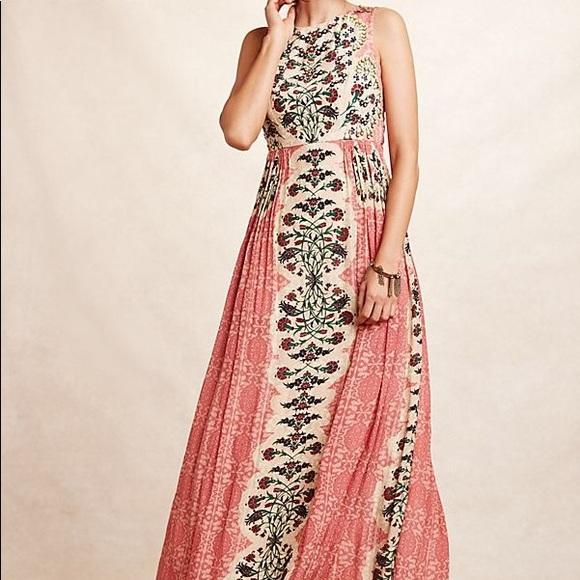 3847a1aa2cea Anthropologie Dresses   Nwt Maxi Dress   Poshmark